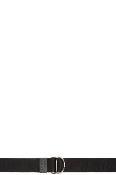 McQ Alexander Mcqueen - Black Logo Belt