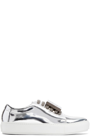 Acne Studios - Silver Leather Adriana Sneakers