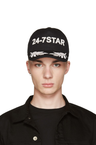 Dsquared2 - Black 24-7 Star Cap