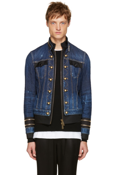 Dsquared2 - Blue Denim Officer Jacket