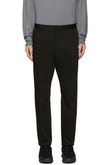 Dsquared2 - Black Cotton Trousers