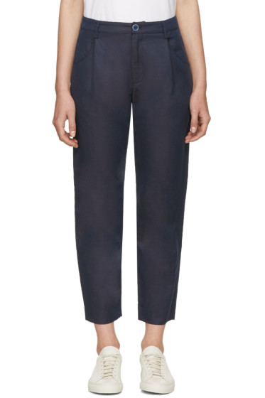 A.P.C. - Navy Napoli Trousers