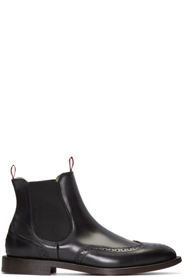 H by Hudson - Black Breslin Boots