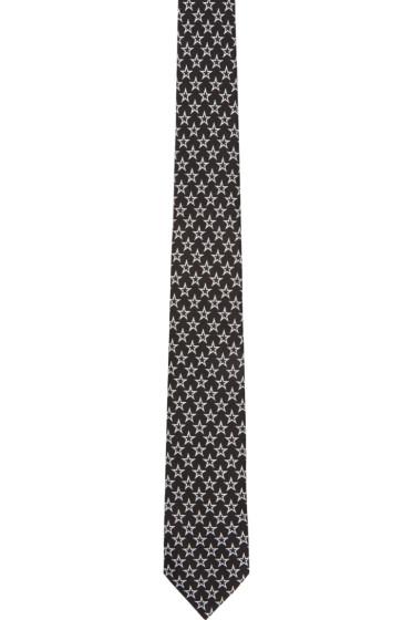 Givenchy - Black Stars Tie