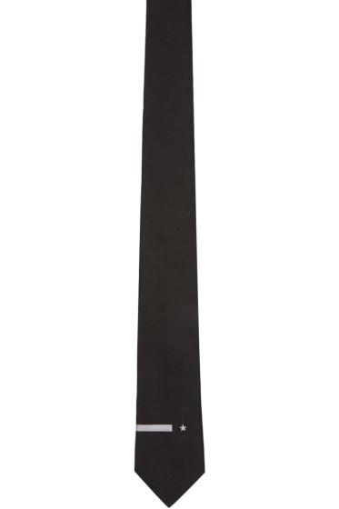 Givenchy - Black Stars & Stripes Tie
