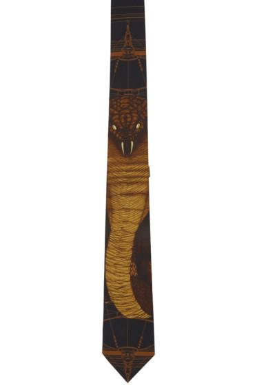 Givenchy - Black Cobra Tie