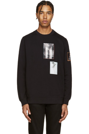 Givenchy - Black Patches Pullover
