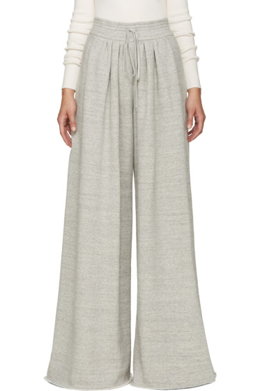 Chloé - Grey Wide Lounge Pants
