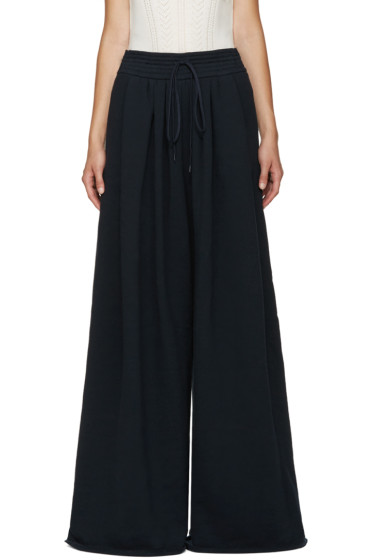 Chloé - Navy Wide Lounge Pants