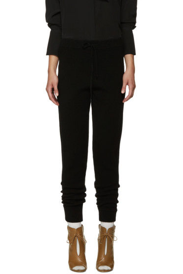 Chloé - Black Cashmere Lounge Pants