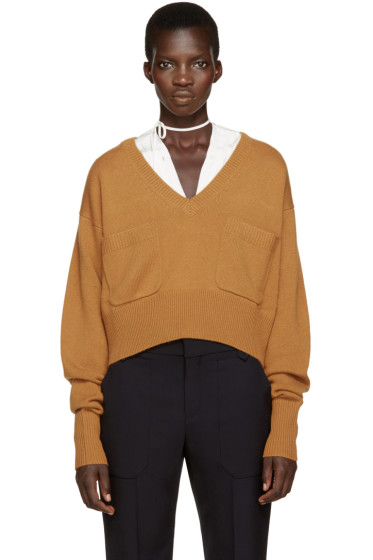 Chloé - Orange Cashmere Sweater