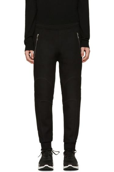 Neil Barrett - Black Biker Lounge Pants