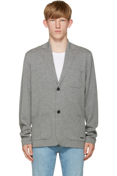 Burberry - Grey Glencoe Cardigan