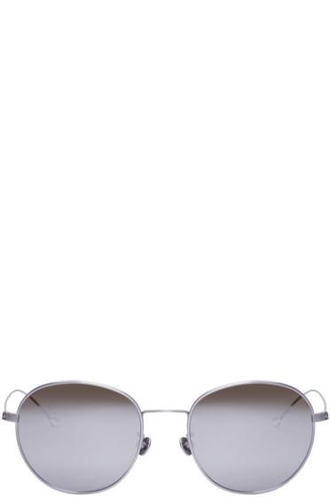 Ann Demeulemeester - Silver Mirrored 28 C2 Sunglasses