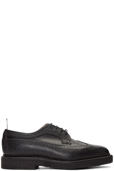 Thom Browne - Black Longwing Brogues