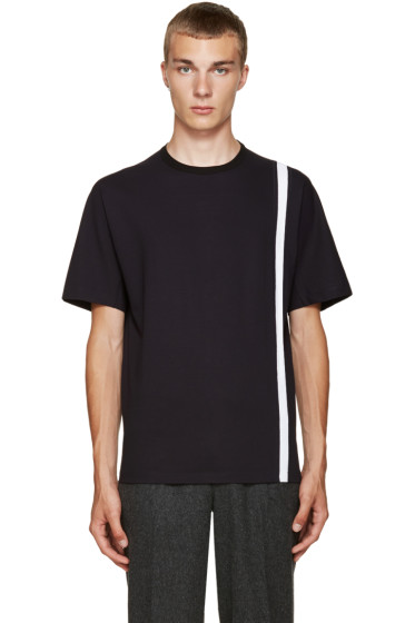 Kolor - Navy Stripe T-Shirt