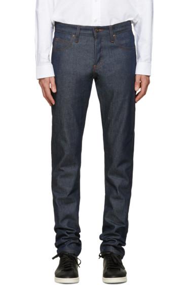 Naked & Famous Denim - Indigo Super Skinny Guy Selvedge Jeans