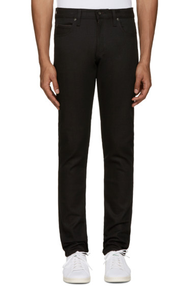 Naked & Famous Denim - Black Super Skinny Guy Jeans