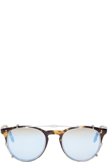 Garrett Leight - Tortoiseshell Clip-On Milwood Glasses