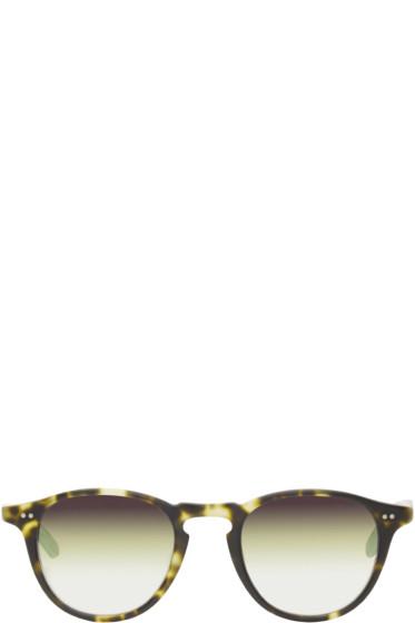 Garrett Leight - Tortoiseshell Mirrored Hampton Sunglasses
