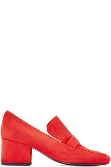 Dorateymur - Red Suede Turbojet Heels