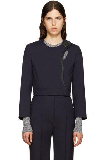 Roksanda - Navy Wool Kilda Jacket