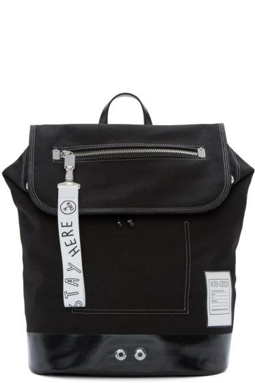 Kenzo - Black Pull-Tab Backpack
