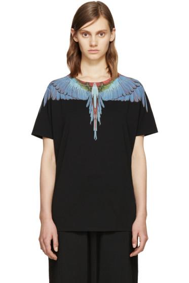 Marcelo Burlon County of Milan - Black Tres Lagos T-Shirt