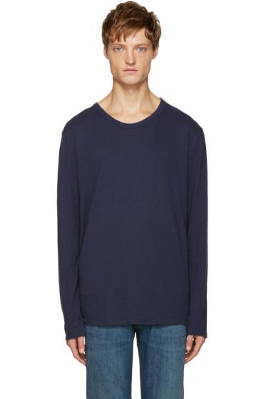 T by Alexander Wang - Blue Classic T-Shirt
