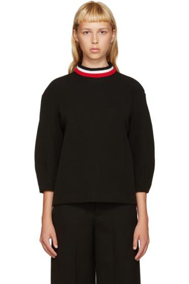 Marni - Black Bonded Jersey Pullover