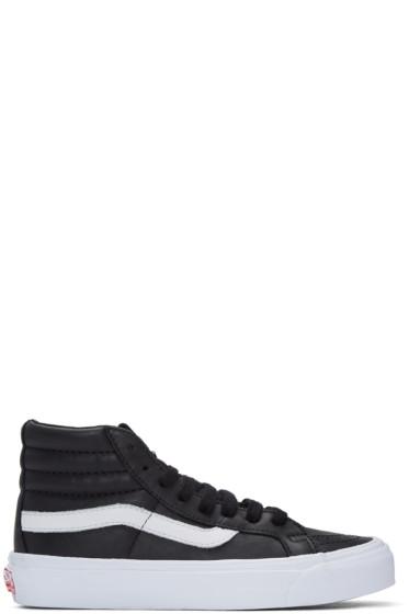 Vans - Black OG Sk8-Hi LX Sneakers
