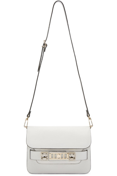 Proenza Schouler - White Leather PS11 Mini Classic Bag