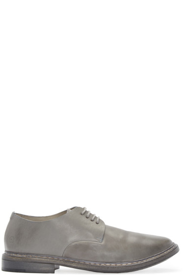 Marsèll - Grey Leather Calce Derbys