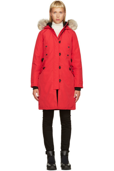 Canada Goose - Red Down Kesington Parka