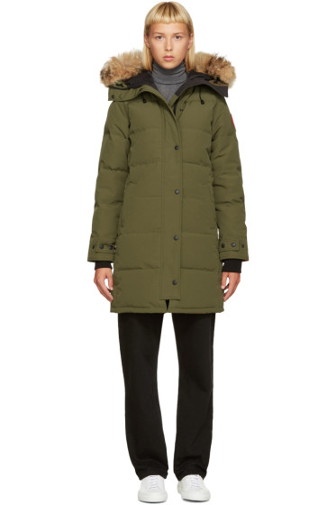 Canada Goose - Green Down Shelburn Jacket