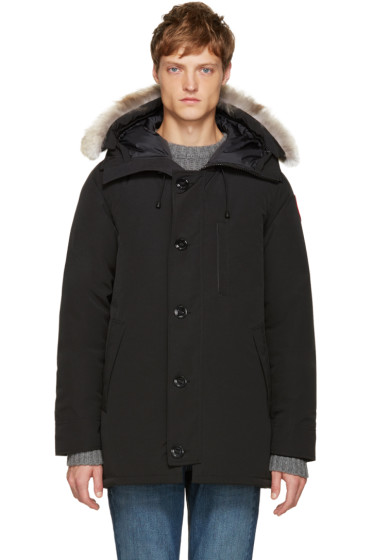 Canada Goose - Black Down Chateau Parka