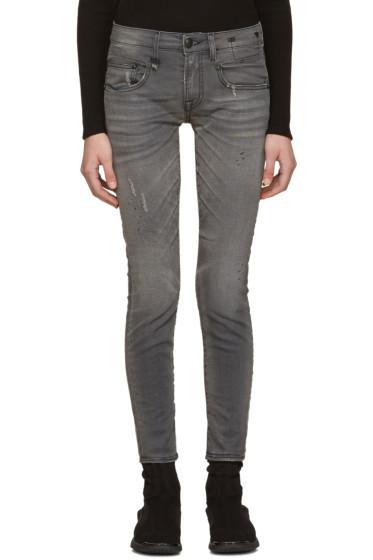 R13 - Grey Boy Skinny Jeans