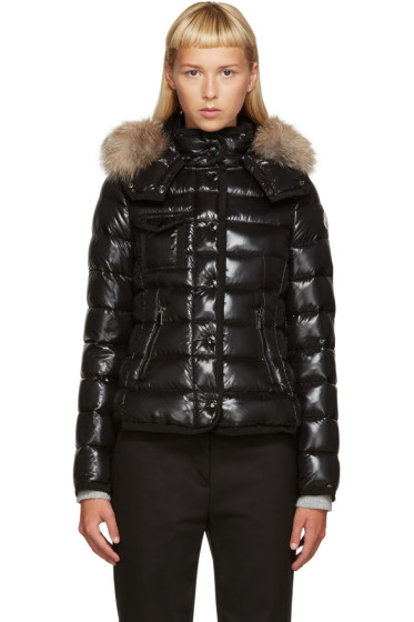 Moncler - Black Down Short Armoise Jacket