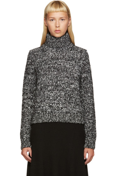 Moncler - Black & White Turtleneck