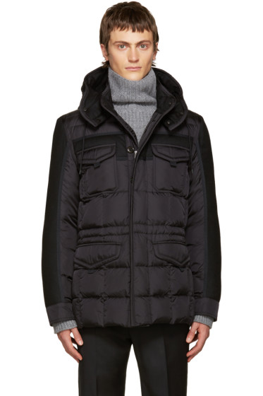 Moncler - Black Down Jacob Jacket