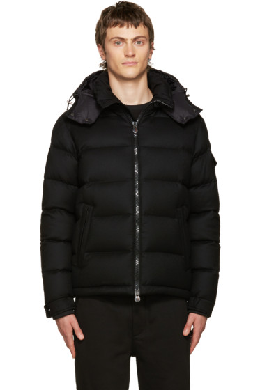 Moncler - Black Down Montgenevre Jacket