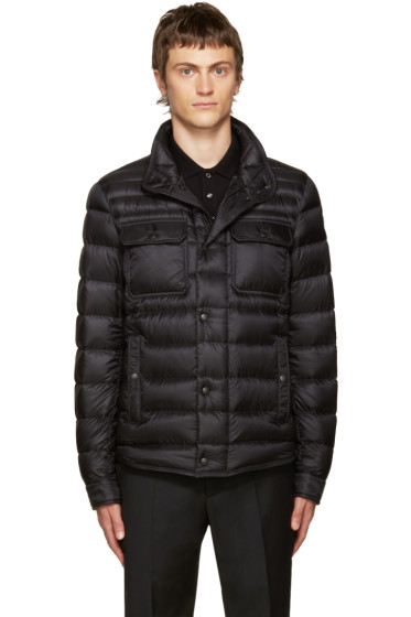 Moncler - Black Down Forbin Jacket