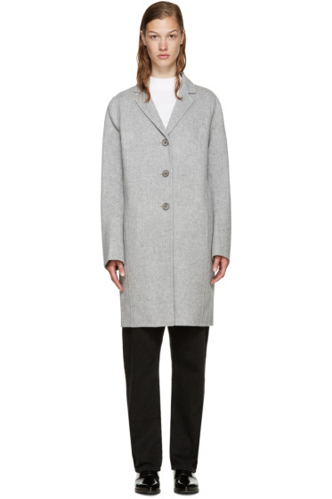 Acne Studios - Grey Wool Elisa Coat