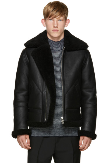 Acne Studios - Black Ian Shearling Jacket