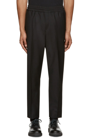 Acne Studios - Black Wool Ryder Trouser