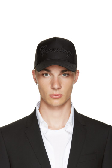 Dsquared2 - Black 'Evening' Cap