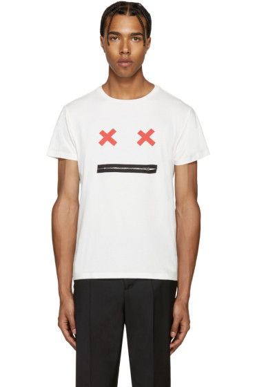 Marc Jacobs - White Smile T-Shirt