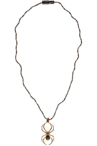 Lanvin - Gold Spider Pendant Necklace