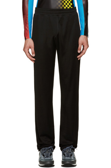 Lanvin - Black Jersey Lounge Pants
