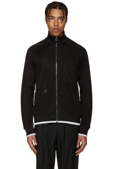 Lanvin - Black Tracksuit Zip-Up Sweater